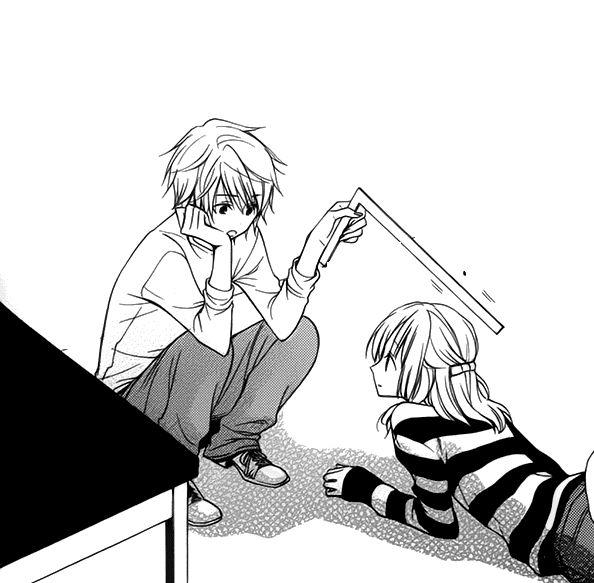 Girl dating death anime comic