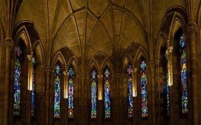 Abbey, Glass, Religion, Architecture