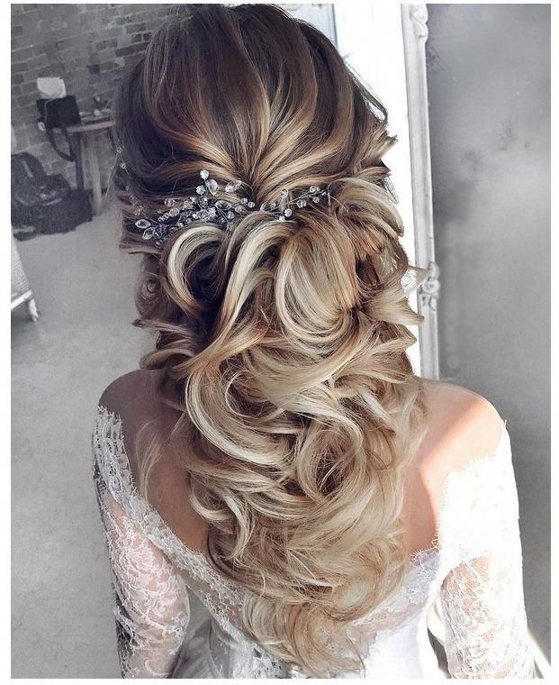 30 Stunning Wedding Hairstyles Ideas In 2019: Long Wedding Hairstyles 2019