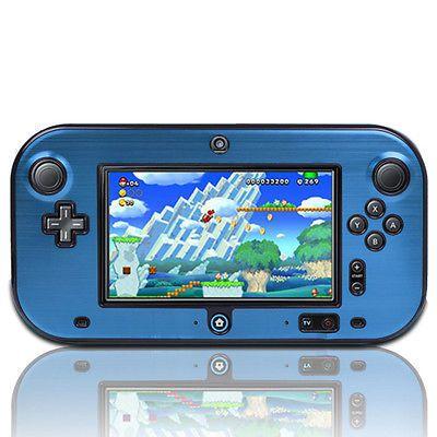 cool Blue Anti-shock Hard Protective Plastic Aluminum Metal Box Cover Case Shell For Nintendo Wii U Gamepad chez Unigro Plus de jeux ici: http://www.paradiseprivatehospital.com/boutique/nintendo/blue-anti-shock-hard-protective-plastic-aluminum-metal-box-cover-case-shell-for-nintendo-wii-u-gamepad-chez-unigro/