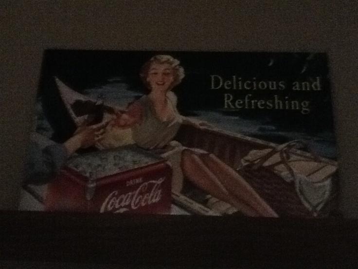 CocaCola-kyltti 50x30cm
