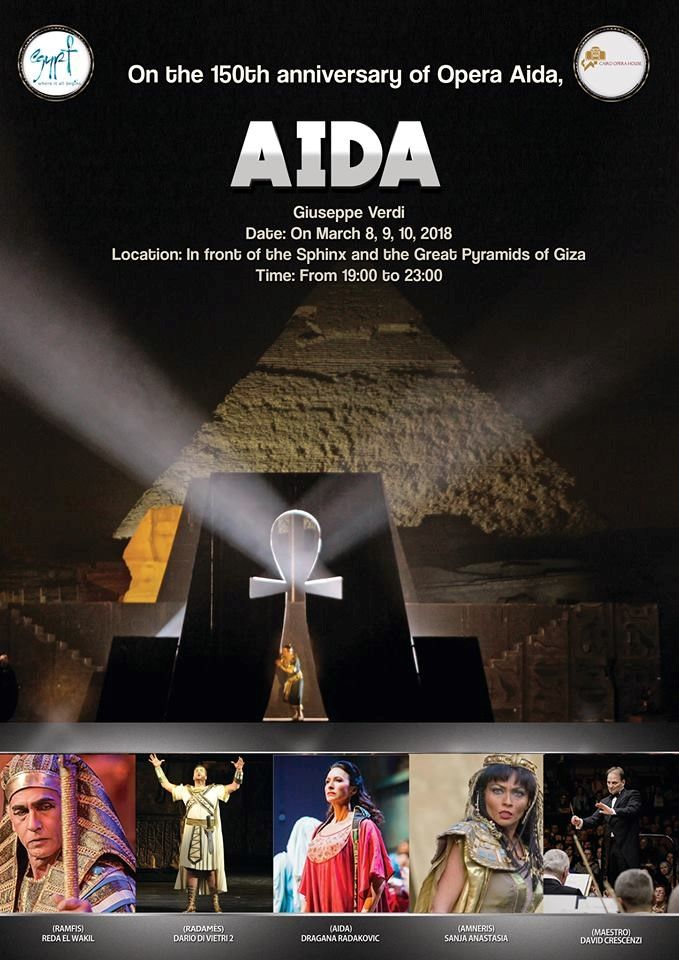 👉City break Cairo – Opera Aida | Durata : 5 zile / 4 nopti Tururi private individuale si de grup Program: In perioada evenimentului 08 – 10.03.2018 Pentru rezervari click aici: http://bit.ly/2HB5koC