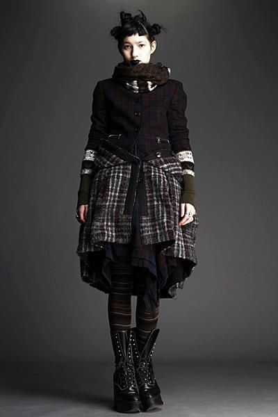 Mori Girl. A darker look for them that I favor.