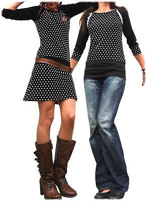 Dress and shirt pattern (e-book, not free).