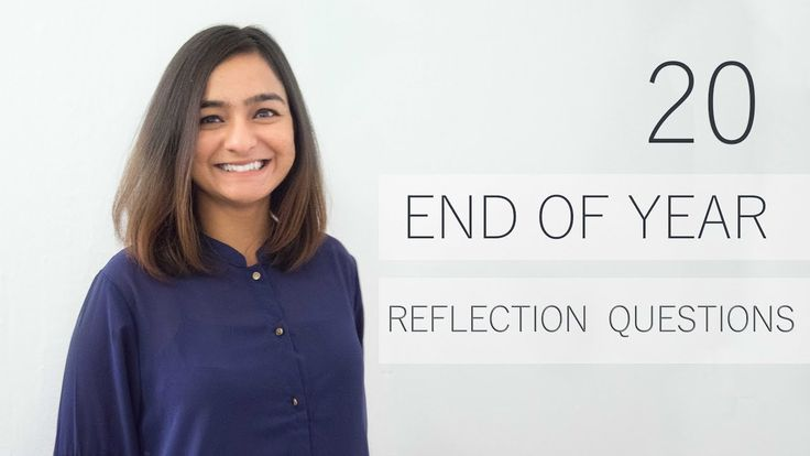 How to Reflect On Past Year & Set Intentions For Next Year | 20 End of y...