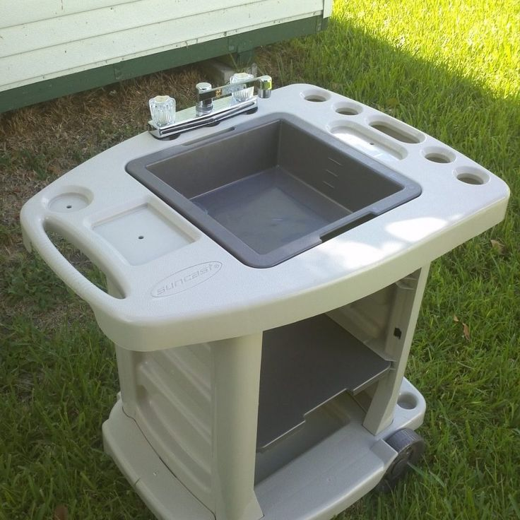 Outdoor Kitchen Sink No Plumbing