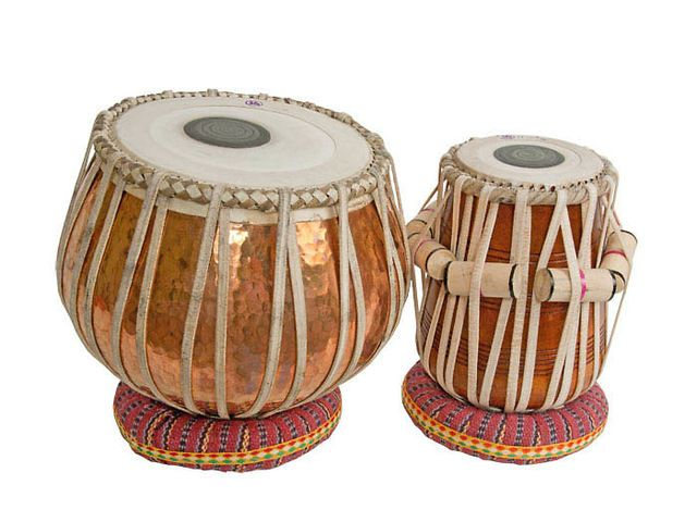 The tabla is a membranophone percussion instrument which is often used in Hindustani classical music and in the traditional music of Afghanistan, India, Pakistan, Nepal, Bangladesh, and Sri Lanka.