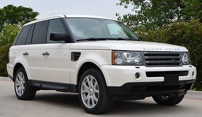2009 Land Rover Range Rover Sport HSE LUX 2009 Range Rover Sport HSE LUX Rear Seat Entertainment Heated Seats