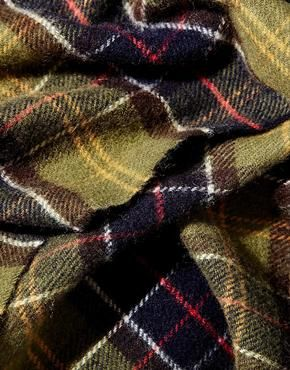 Barbour Tartan Lambswool Scarf £27, ASOS                                                                                                                                                                                 More