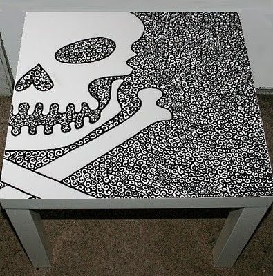 skull furniture - Google Search - skull table
