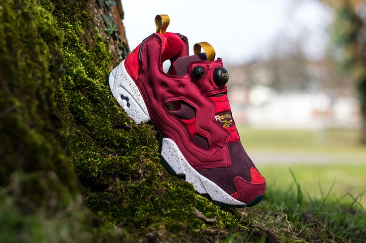 END. x Reebok Insta Pump Fury 'Claret' (Detailed Pictures)