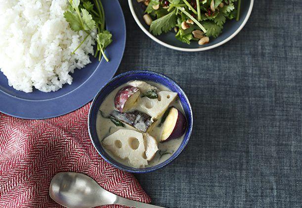 根菜のグリーンカレーのレシピ・作り方   暮らし上手