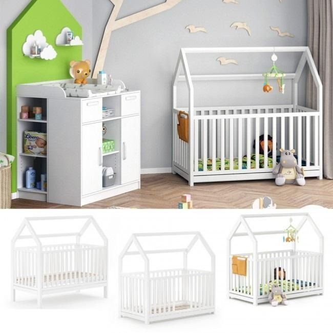 Lit Bebe Evolutif Montessori En 2020 Lit Bebe Lit Cabane Deco