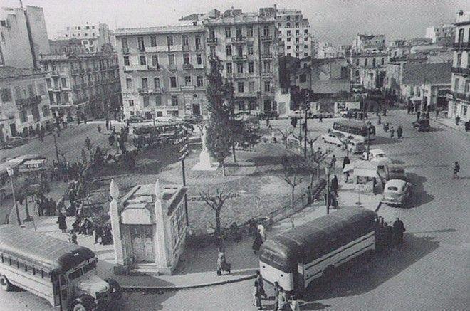 Πλατεία Κάνιγγος, 1954