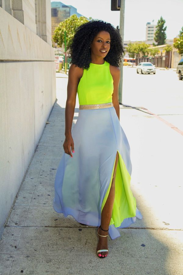 Best 25  Neon Maxi Dresses ideas on Pinterest | Neon dresses ...