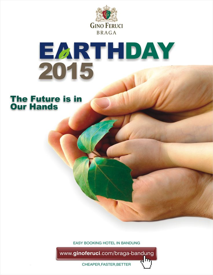 Earth Day 2015 : save our earth, the future is in our hands   #earth #earthday #earthday2015 #haribumi #bumi #haribumi2015 #selamatharibumi #care #protect #saveourearth #ginoferuci #ginoferucibraga #ginoferucihotel #ginoferucibandung #hotelginoferuci #kagumhotels #connectus #bandung