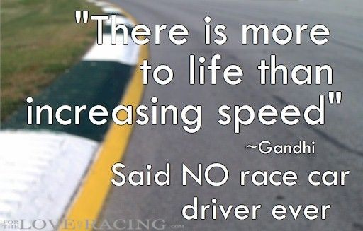 Racing quotes...great post!