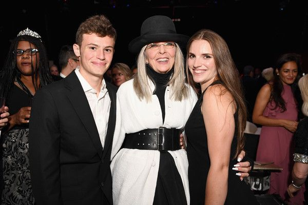 Diane Keaton Photos Photos - (L-R) Duke Keaton, Honoree Diane Keaton and Dexter Keaton attend the after party for American Film Institute's 45th Life Achievement Award Gala Tribute to Diane Keaton at OHM Nightclub on June 8, 2017 in Hollywood, California. 26658_006 - American Film Institute's 45th Life Achievement Award Gala Tribute to Diane Keaton - After Party
