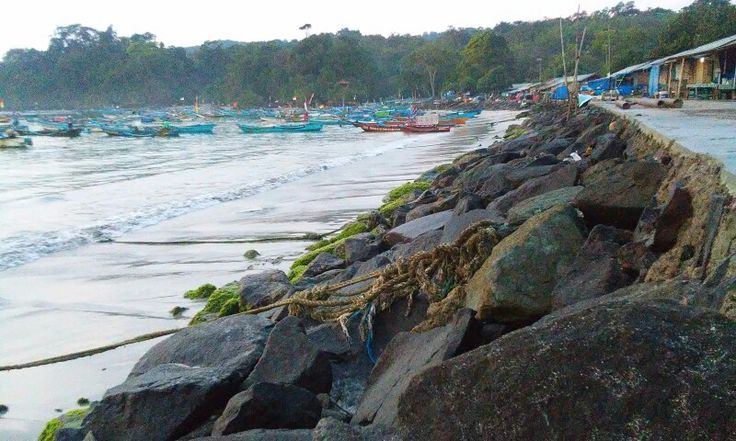 East Beach, Pangandaran, West Java, Indonesia