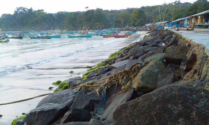 East Beach, Pangandaran, West Java, Indonesia