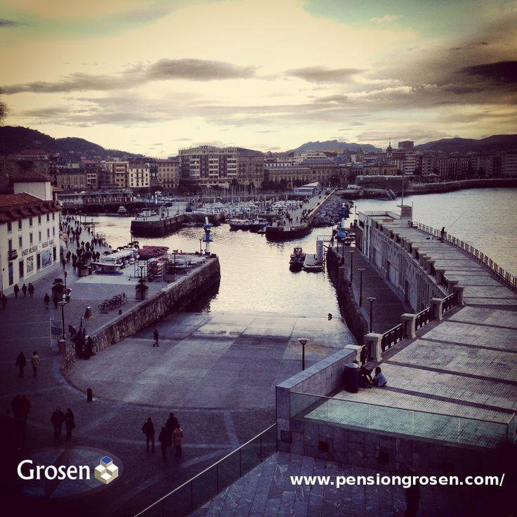 Puerto de San Sebastián Donostia.  http://www.pensiongrosen.com/