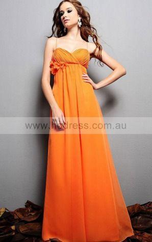 Zipper Floor-length A-line Empire Sweetheart Formal Dresses gt5277--Hodress