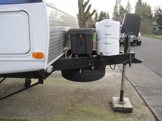 Rv Net Open Roads Forum  Travel Trailers  Under Tongue Spare Tire Carrier