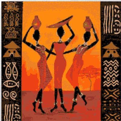 Tre Grazie Africane - Three Graces African