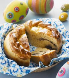 Kulich is a delicious traditional Russian Easter bread. Try out our Cadbury Kitchen spin on this wonderful classic. #easter
