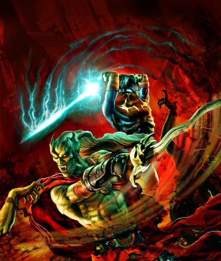 Legacy of Kain Defiance, best Vampires