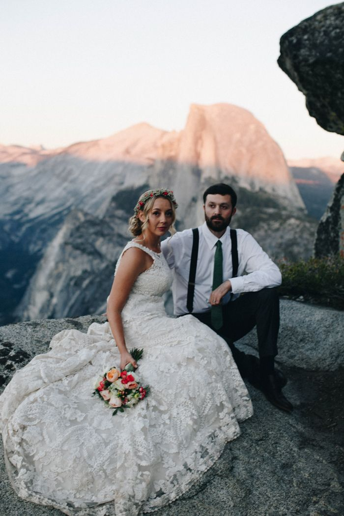 Whimsical Yosemite wedding   Image by From The Daisies