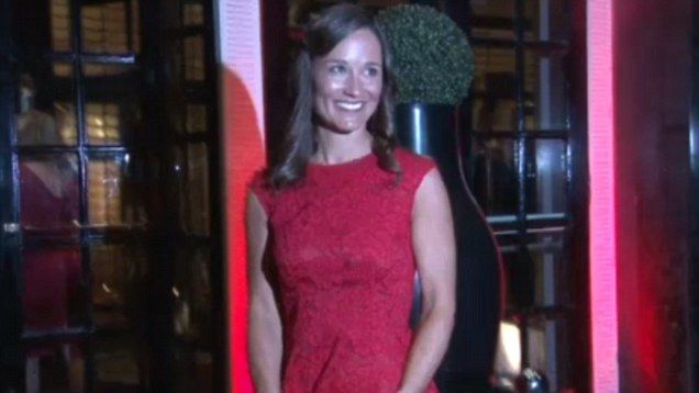 Pippa Middleton leads the glamour at the British Heart Foundation fundraiser   Daily Mail Online