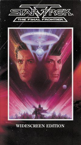 Star Trek V - The Final Frontier (Widescreen Edition) [VHS] @ niftywarehouse.com #NiftyWarehouse #StarTrek #Trekkie #Geek #Nerd #Products