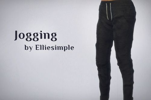 Sims 4 CC's - The Best: Jogging Pants in 8 Colors for Females by EllieSimp...