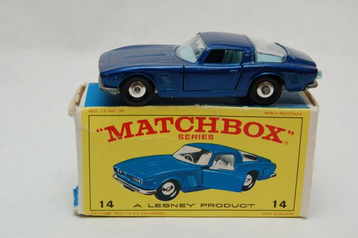 Matchbox Lesney #14 Iso Griffo reg Wheel With Original Box Great Stocking Stuffer Gift For Dad by RememberWhenToys on Etsy