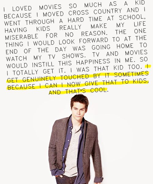 Dylan O´Brien quote