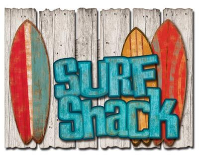 Surf Shack 3 D Wall Sign Surf Shack Surf House Beach Signs