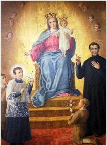 Oración a San Juan Bosco para Pedir Auxilio y Grandes Favores. http://www.virgenmariaauxiliadora.com/