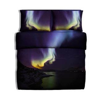 Nothern lights design bedding. Looks co cool and exciting, brandname is myakot