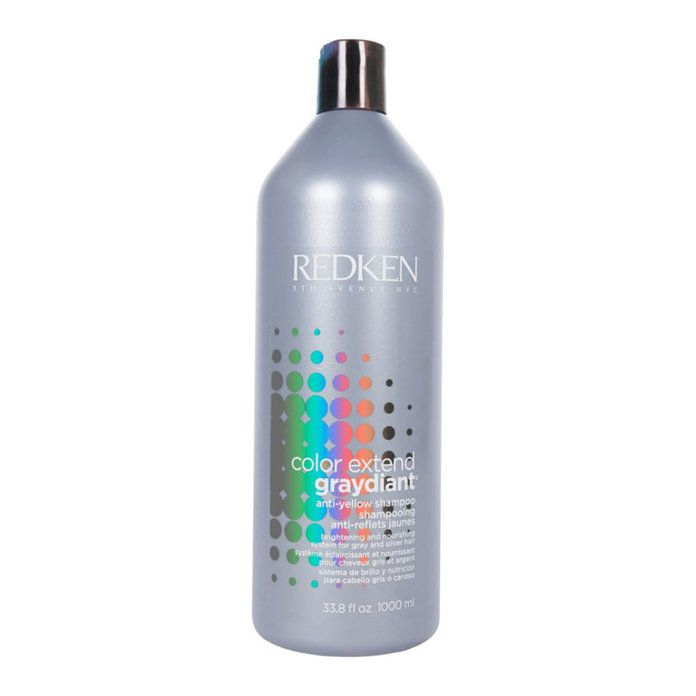 The Best Products To Use On Naturally Gray Hair Redken Color Extend Redken Color Grey Hair