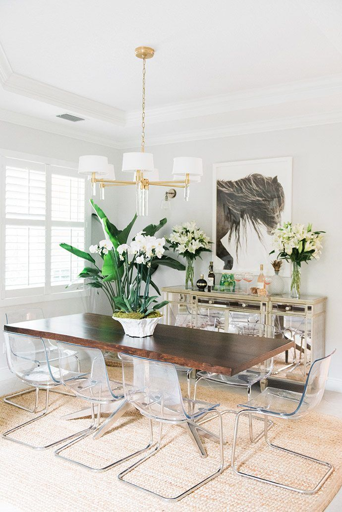 If You Love Pink Tropical Vibes Meet Your New Dream Home Tropical Home Decor Tropical Decor Tropical Dining Room