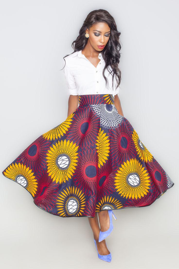 Nigerian fashion styles for women - Adissa Lola Skirt Kaela Kay African Fashion Stylenigerian