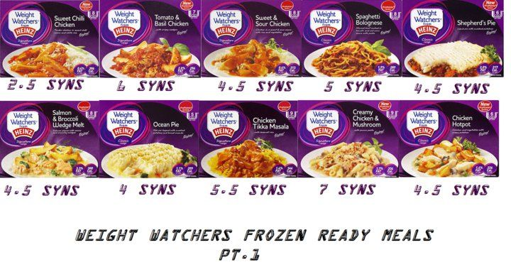 weight watchers ready meals syns - Google Search