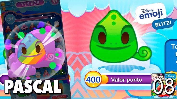 Pascal emoji / Juego Disney Emoji Blitz - Gameplay