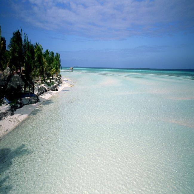 Cayo Coco, Cuba ... this is a beach, NOT a pool... ::sigh::