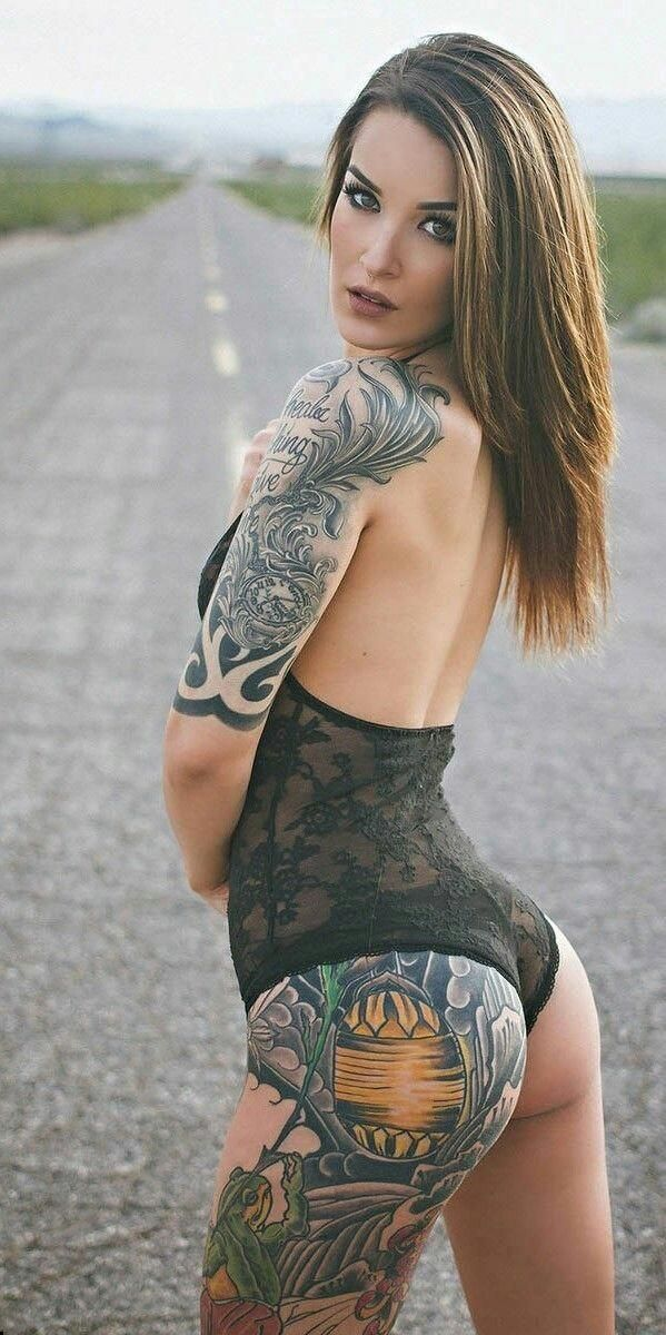 Best models images on pinterest tattoo girls hot tattoos