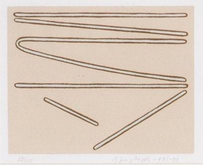 Juhana Blomstedt, 1968/98, serigrafia, edition 78/125 - Hagelstam 5/2016