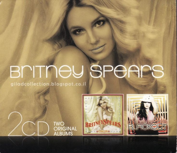 Britney Spears Collection by Gilad: 2CD: Circus / Blackout [Boxset]