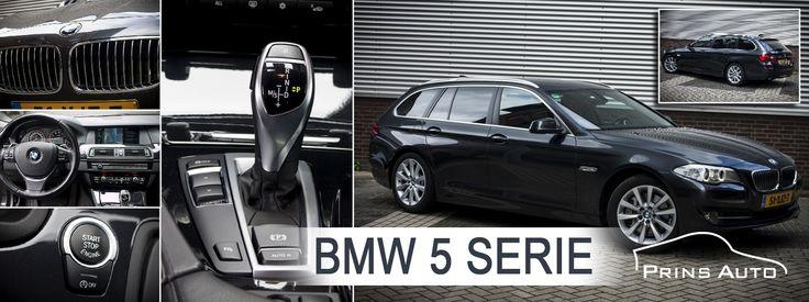 Deze schitterende BMW 528i Touring is werkelijk een plaatje om te zien!  De auto is uitgevoerd in het Antraciet zwart met mooie zwart lederen bekleding.  De auto is voorzien van het fullmap navigatiesysteem en sportieve 18 inch lichtmetalen velgen.  Verder is de auto voorzien van Bi-Xenon verlichting en elektrisch verstelbare voorstoelen.  De auto is zowel technisch als optisch in keurig nette staat! Kijk op de website of download onze App. Natuurlijk bent u ook altijd van harte welkom om de…