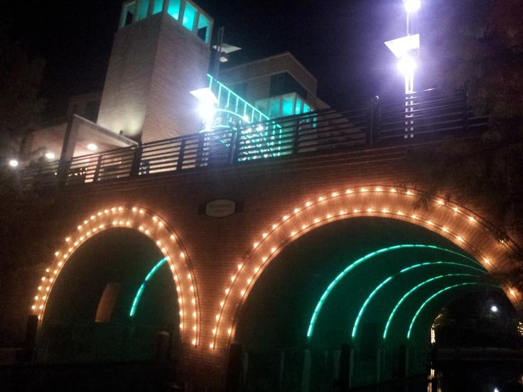 The Woodlands Waterway Bridge